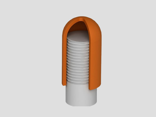 Cappucci in silicone stabilizzato di altissima qualità